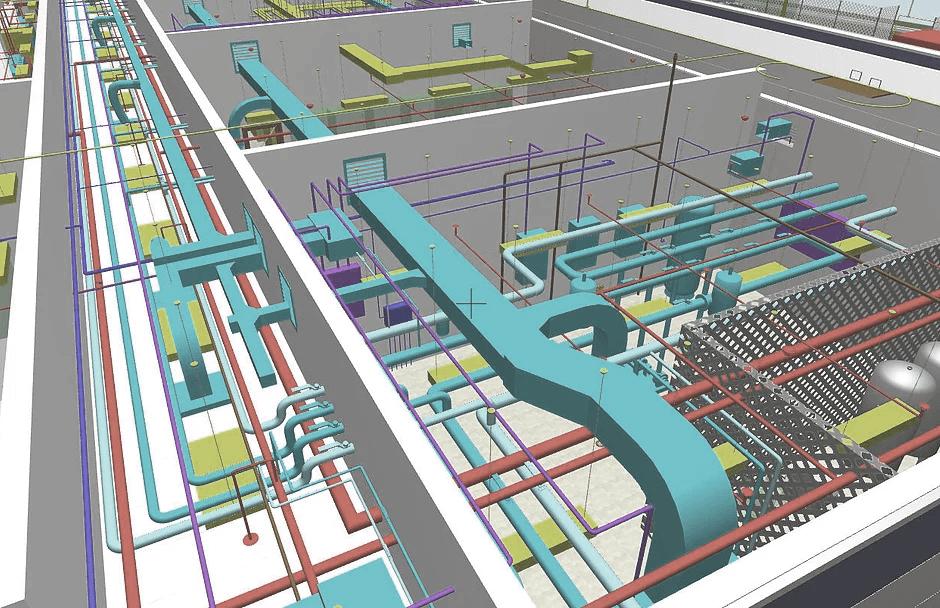 Proiectare instalatii constructii 3D folosind avantajele oferite de BIM